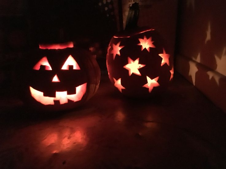 With Caitlin :) from the pumpkins in our garden
