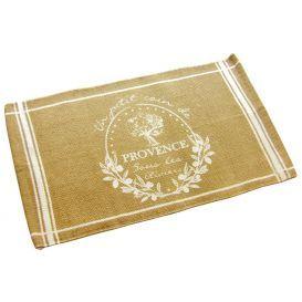Alfombra estampada de algodón 50x80 Provence