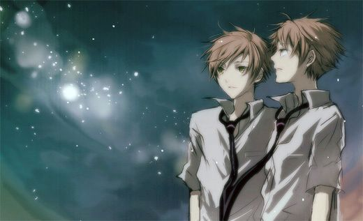 This is one of the most amazing Ouran Highschool Host Club fan arts I have ever seen. <3 HIKARU AND KAORU! my favourite characters