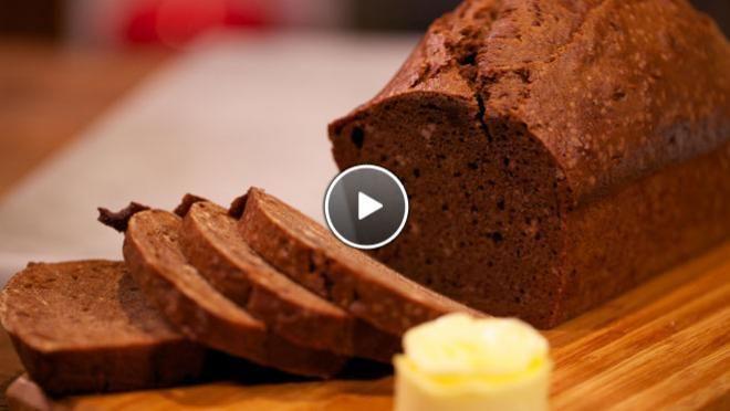 Ontbijtkoek - Rudolph's Bakery | 24Kitchen Ik heb koekkruiden en een laag bakblik gebruikt: mini ontbijtkoekjes!