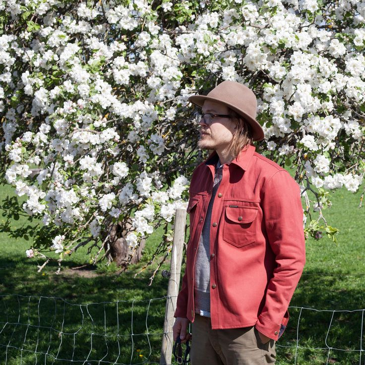 Indigofera Jeans, Fargo Shirt Red. (wear well, christian kjellvander, denim)