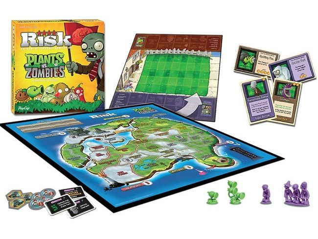 Holy crap, really??? Risk: Plants vs Zombies Board Game