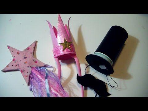 Tutorial Carnevale FAI DA TE: Coroncina Principessa + Bacchetta Magica/ ...