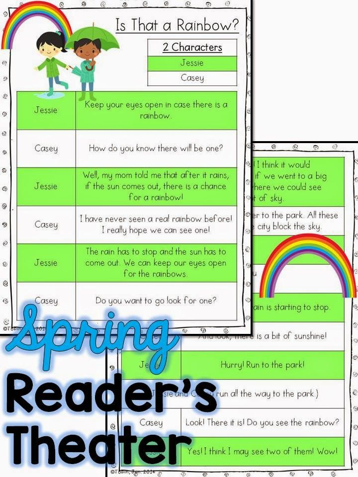 Spring Reader's Theater