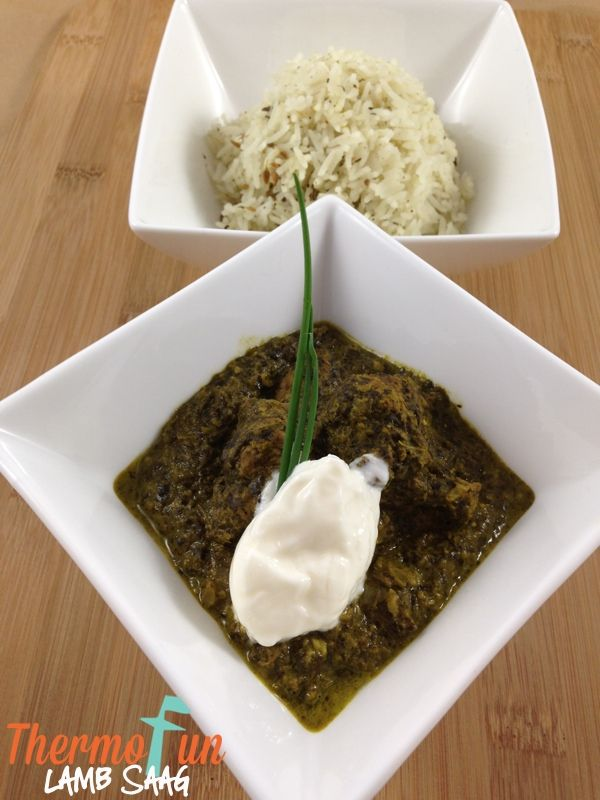 A beautiful flavoursome filling dish with warmth but no heat. The spinach adds a delightful texture. Print ThermoFun – Lamb Saag Recipe Yield: Serves 6 IngredientsMarinade 1 tbsp ThermoFun curry blend 1 tsp fenugreek seeds 1 tsp fennel seeds ½ cinnamon stick 6 cloves garlic, peeled 2 cm fresh ginger 1 red chilli large handful …