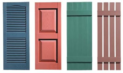 Mad for Mid-Century: Mid-Century Shutters