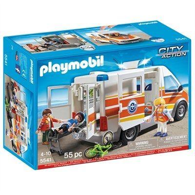 Playmobil City Action - Coast Guard - Ambulance with Siren
