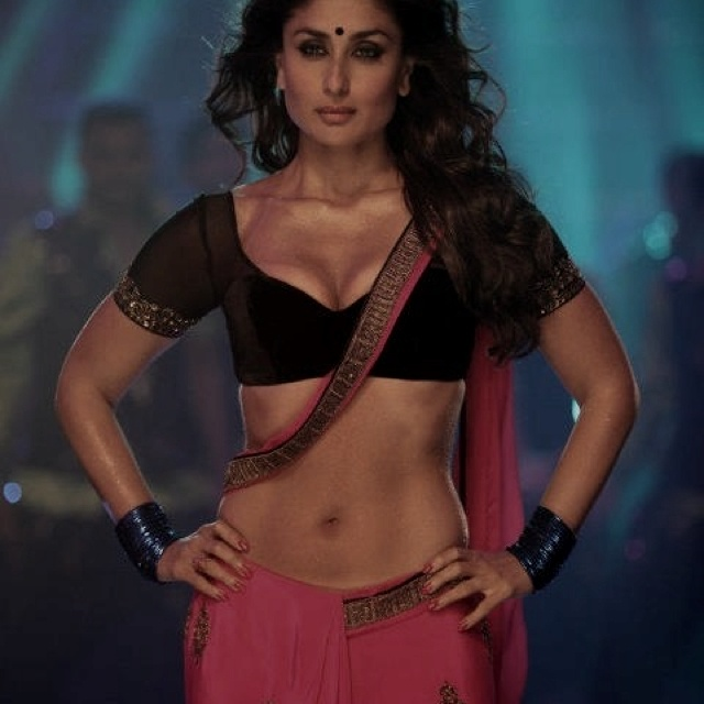 Kareena kapoor in her new film, 'Heroine'. Outfit by Manish Malhotra