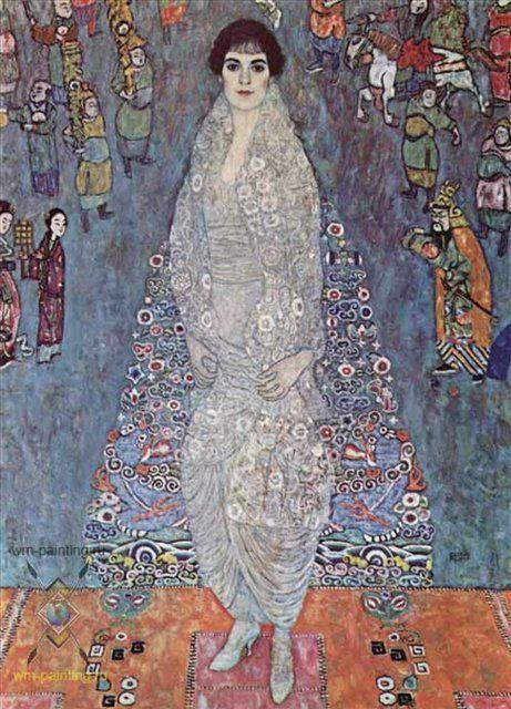 Портрет баронессы Элизабет Бахоффен-Экт :: Густав Климт - Gustav Klimt (Климт Густав ) фото