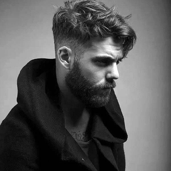 Low Fade Taper Haircut For Males