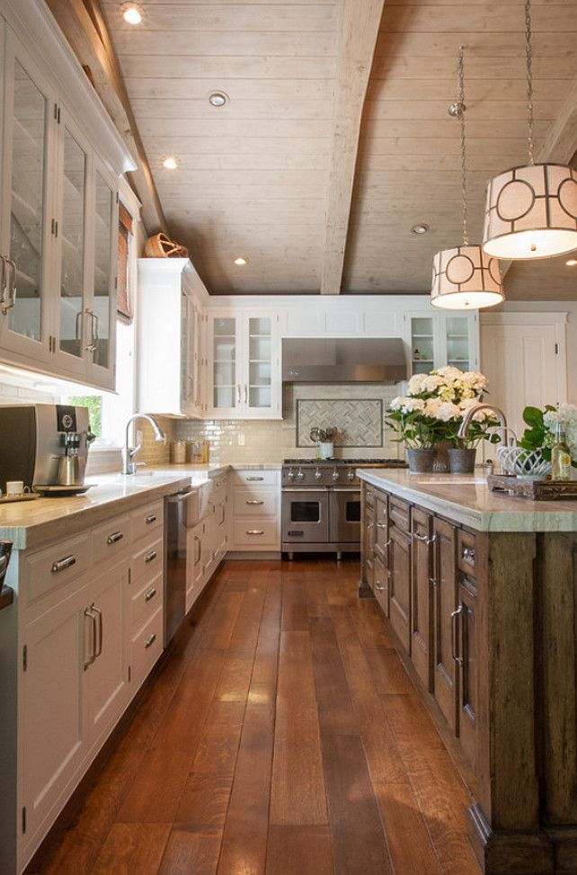 25 best ideas about long narrow kitchen on pinterest for Narrow kitchen cupboard ideas
