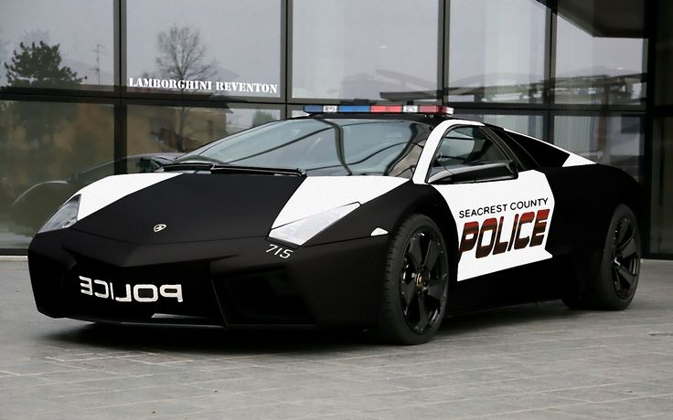 I hope there's no dept. in the US that uses a Lamborghini for a patrol vehicle