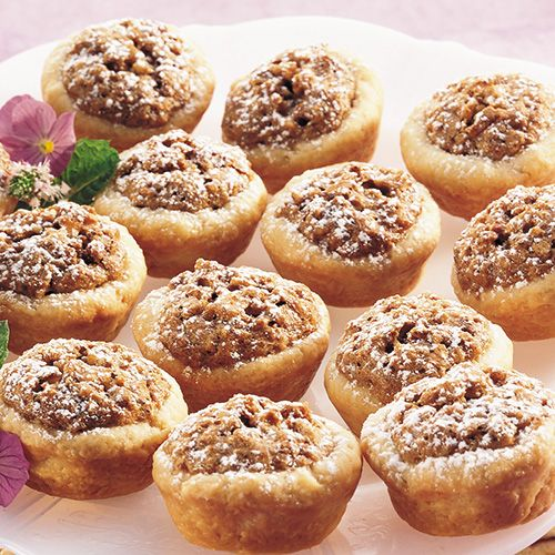 Pecan Tassies - Like little pecan pies that you can pop in your mouth!