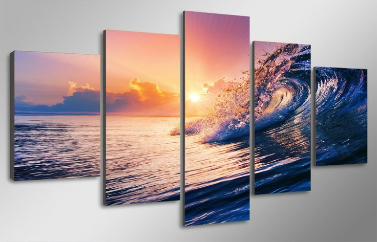 FREE Shipping Worldwide!    Buy one here---> https://awesomestuff.eu/product/ocean-sunset-i/