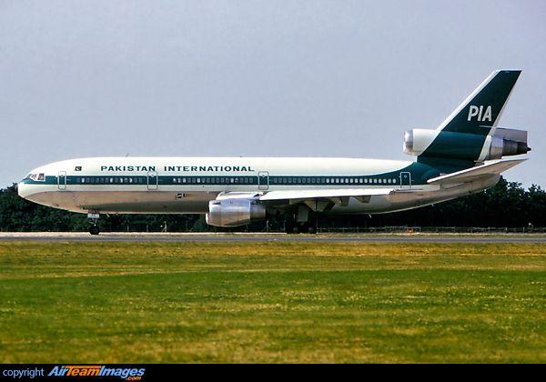 PIA - Pakistan International Airlines McDonnell Douglas DC-10-30