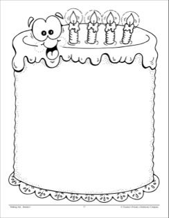 Birthday Treats: Design Paper Page