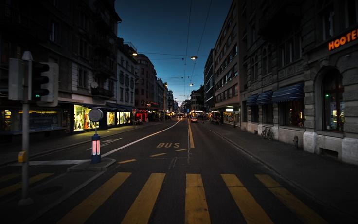 Langstrasse - parallax scrolling