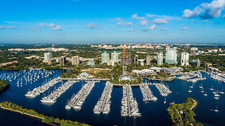 Coconut Grove looks good from the air