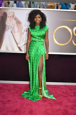 Folake's Oscars Outfit – Jewel By Lisa Gown  (Source: itsloudinsidemyhead)