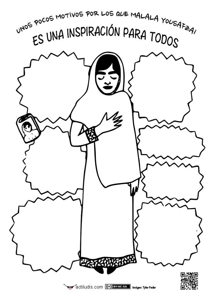 Para trabajar la paz.  Malala