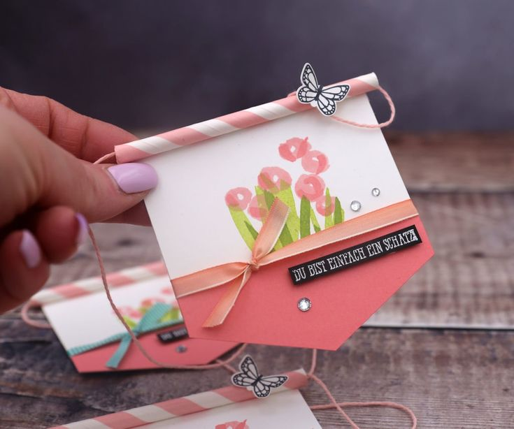 Friday Video – My Swap – Spring Pennant with Stampin & # 39; Up!