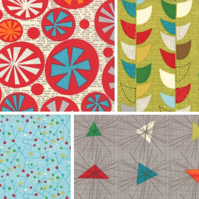 Jenn Ski: My new abstract fabric!: Mod Century Fabrics, Modern Patterns, Fabrics Prints, Abstract Fabrics Lov, Illustration, Artsy Design, Modcenturi Fabrics, Midcentury, Patternsjenn Skiing