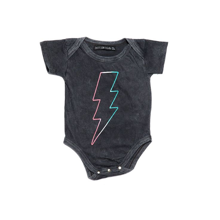 Zuttion Baby Lightening Bolt Onesie  Cool Toddler Boys Clothes  Tiny Style Australia