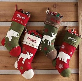Rustic Hunting Stockings Price 19 00 Christmas Decorations