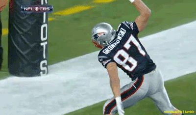 YES! Can't wait to see the Gronk in action once again