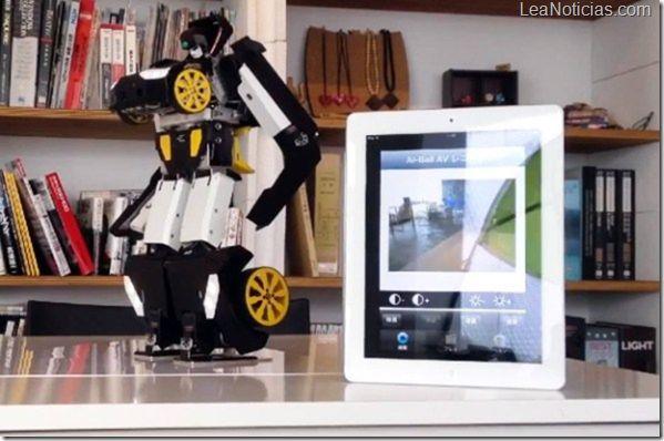 Brave Robotics fabrico el primer auto ''Transformer'' real - http://www.leanoticias.com/2012/11/27/brave-robotics-fabrico-el-primer-auto-transformer-real/