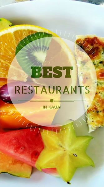 Best Restaurants Kauai