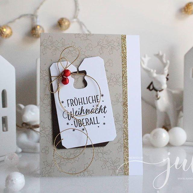 #cardmaking #stampinup #christmas #weihnachten
