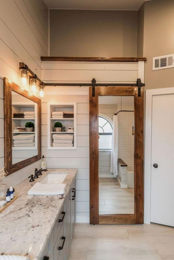 Rustic Bathroom Decoration – Honey, I'm Home.