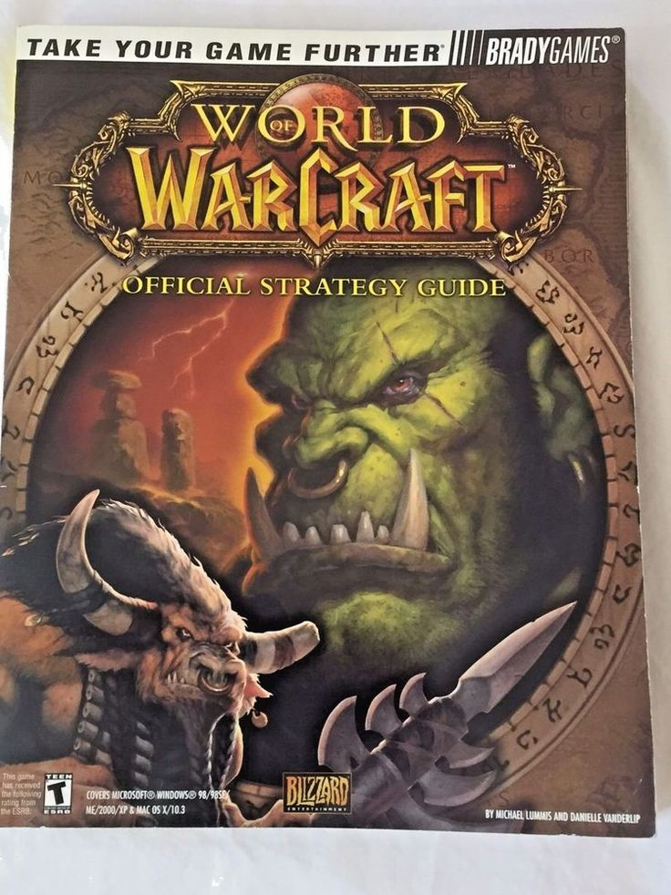 WoW World Of Warcraft Official Strategy Guide Video Game