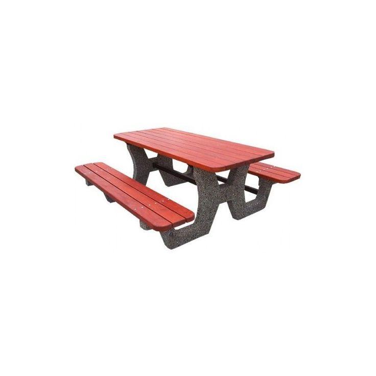 Stół parkingowy kosze betonowe, kosze na śmieci, kosze na smieci, mała architektura miejska, http://cityarch.eu/