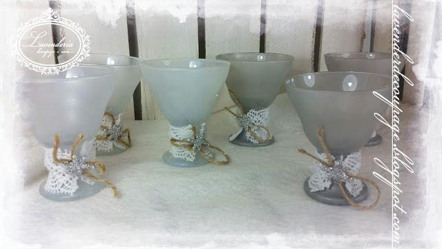 Lavenderia - decoupage i inne: Lampiony