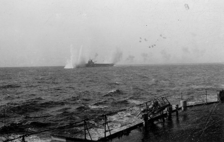 The Royal Navy got a sharp taste of what the Mediterranean war held in store when HMS Illustrious was bombed during the first Luftwaffe attack in the area.
