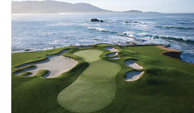 Pebble Beach remains the number 1 #golf course in America. We agree and Spyglass Hill (#11), Spanish Bay (49) are all in the top-50!