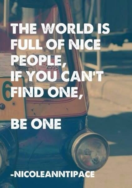Be the one.