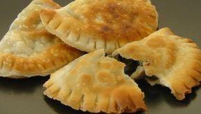 Κρητικά χορτοκαλίτσουνα ή χορτόπιτες - πιτούλες τηγανιού