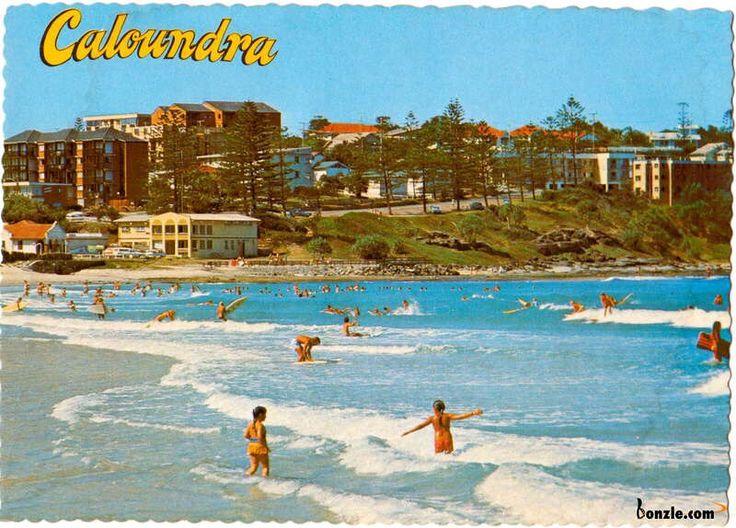 Caloundra - vintage Australia
