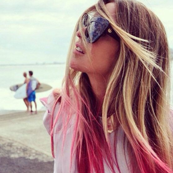 chalk hair color, etsy