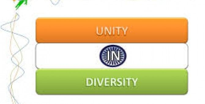 My Country India (Unity in Diversity)