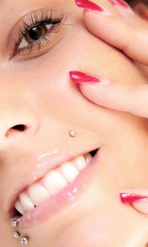 27 Monroe Piercing Examples with Jewelry and Information