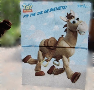 Toy story Game and Craft Ideas...Rex placemats, Buzz LightYear Pinata, Sheriff Says