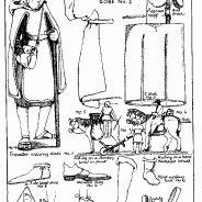 Pèlerins et voyageurs - costume GN médiéval