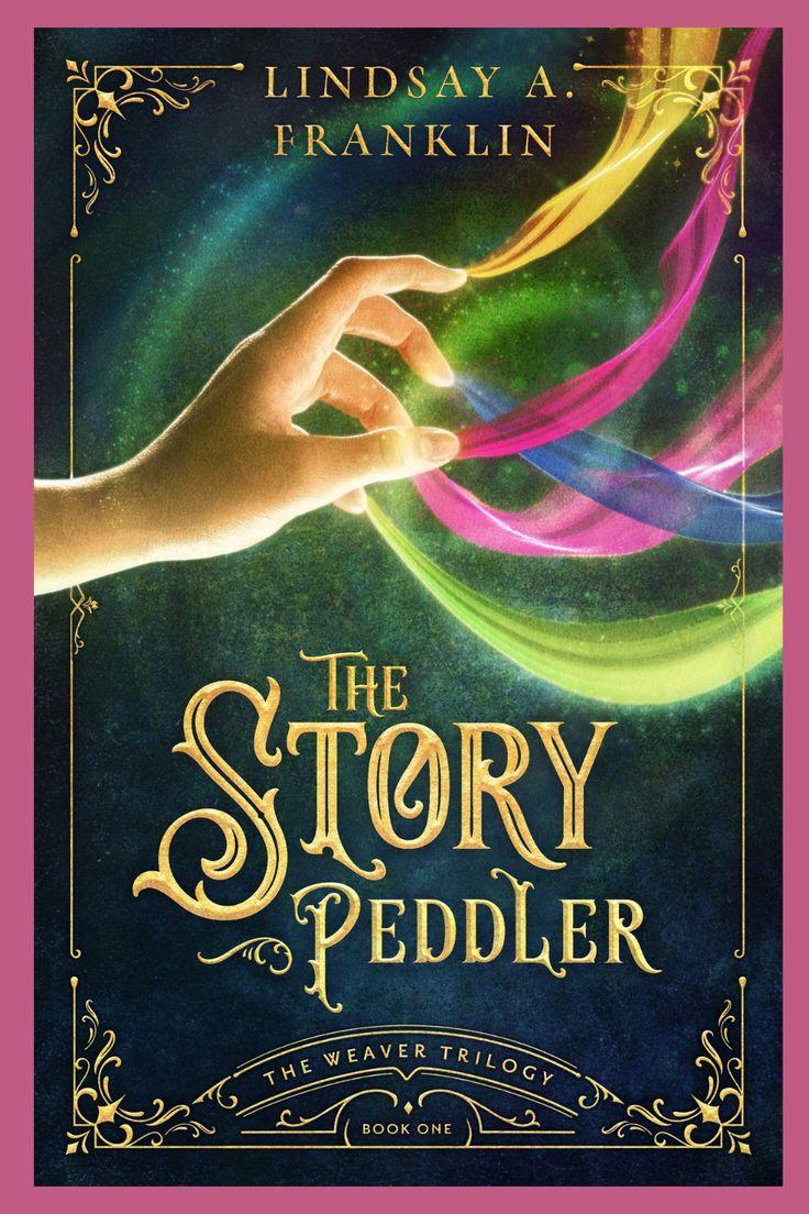 My #bookreview of The Story Peddler by Lindsay A. Franklin #youngadultbooks #ireadya #fantasyfiction #cleanfiction #yalit #weavertrilogy #christianfiction