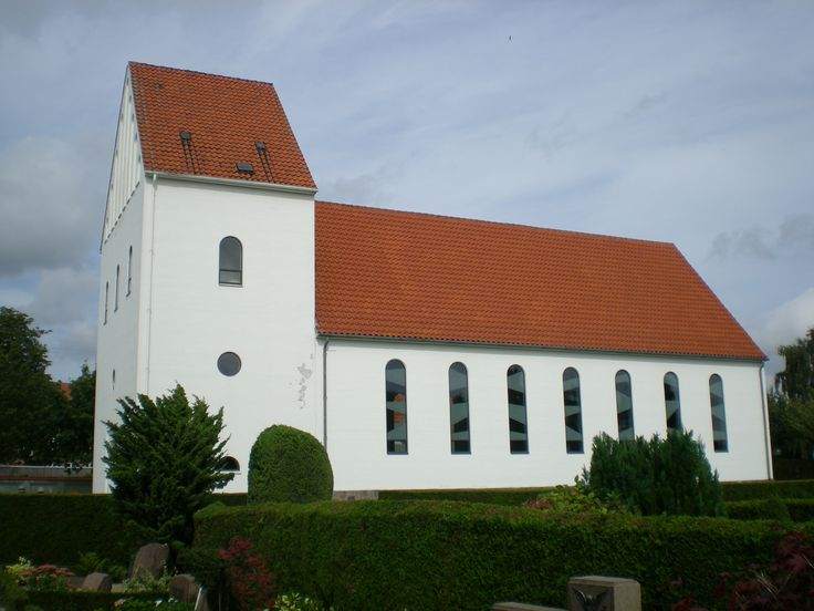 Church of Ansgar, Ansgarkirken, Hedehusene, Denmark. Photo: Kurt Thorleif Jensen.