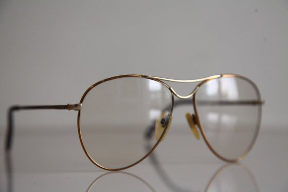 Vintage RODENSTOCK JUNGE LINIE  Eyewear, Gold Frame, Rx-Able Prescription lenses. Rare Piece. Made in Germany