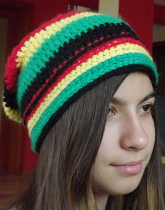 Crocheted Hat by AdeHandmade on Etsy